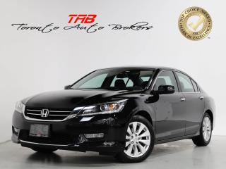 Used 2013 Honda Accord Sedan EX-L V6 I SUNROOF I CAM I LEATHER I PUSH START for sale in Vaughan, ON