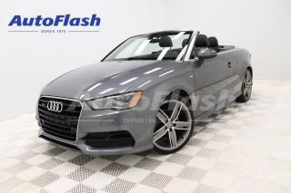 Used 2016 Audi A3 *TECHNIK QUATTRO *S-LINE *BANG-&-O *CONVERTIBLE for sale in Saint-Hubert, QC