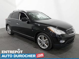 Used 2015 Infiniti QX50 AWD - V6- Navigation - Toit Ouvrant - Climatiseur for sale in Laval, QC