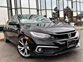 Used 2019 Honda Civic Sedan Touring CVT for sale in Brampton, ON