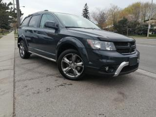 Used 2017 Dodge Journey FWD 4DR CROSSROAD for sale in Toronto, ON