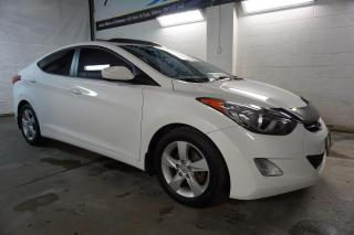 Used 2013 Hyundai Elantra GLS 6Spd CERTIFIED 2YR WARRANTY *FREE ACCIDENT*2ND WINTER* HEATED 4 SEATS SUNROOF BLUETOOTH for sale in Milton, ON