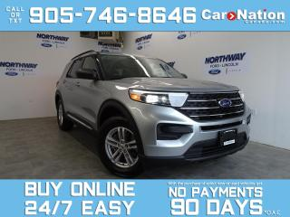Used 2020 Ford Explorer XLT | 4X4 | TOUCHSCREEN | 7 PASS | NEW CAR TRADE for sale in Brantford, ON