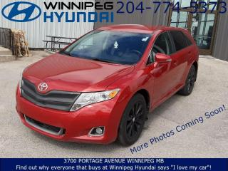 Used 2014 Toyota Venza base for sale in Winnipeg, MB