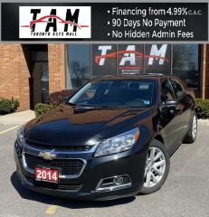 Used 2014 Chevrolet Malibu 2LT Bluetooth Heated Seats for sale in North York, ON