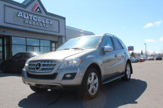 Used 2009 Mercedes-Benz ML-Class ML320 BLUETEC for sale in Calgary, AB
