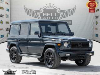 Used 2002 Mercedes-Benz G-Class SOLD .. SOLD ... SOLD. ..AWD, SUNROOF, BLUETOOTH, HEATED SEAT, MEMO SEAT for sale in Toronto, ON