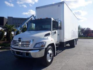 Used 2010 Hino CUBE VAN 24 foot  3 Seater Power Tailgate Diesel With Hydraulic Brakes for sale in Burnaby, BC