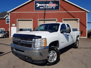 Used 2011 Chevrolet Silverado 2500 HD LT EXT. CAB 4WD for sale in Dunnville, ON