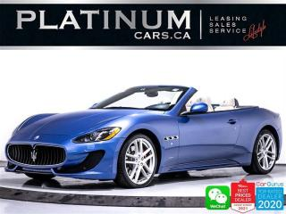 Used 2016 Maserati GranTurismo S 4.7 CONVERTIBLE, 454HP V8, NAV, CAM for sale in Toronto, ON