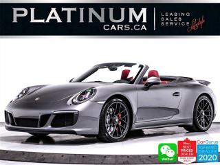 Used 2018 Porsche 911 Carrera 4 GTS Convertible, 450HP,AWD,PDK,PREM PLUS for sale in Toronto, ON