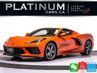 Used 2021 Chevrolet Corvette STINGRAY Z51 3LT, 450HP, PDR, CAM, NAV, HEATED for sale in Toronto, ON