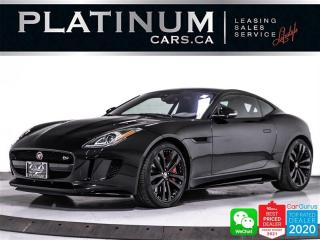 Used 2017 Jaguar F-Type S, 380HP, AWD, NAV, PANO, CAM, BLINSPOT AST for sale in Toronto, ON