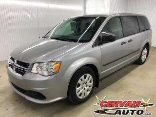 Used 2015 Dodge Grand Caravan Adapté pour chaise roulante 7 Passagers for sale in Shawinigan, QC