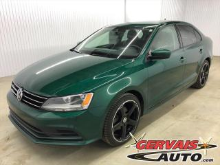 Used 2017 Volkswagen Jetta Trendline+ MAGS BLUETOOTH CAMÉRA SIÈGES CHAUFFANTS *Couleur très rare* for sale in Shawinigan, QC