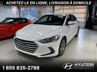 Used 2017 Hyundai Elantra GL + GARANTIE + CAMERA + CARPLAY + WOW ! for sale in Drummondville, QC