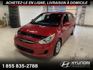 Used 2015 Hyundai Accent GL + GARANTIE + A/C + CRUISE + WOW !! for sale in Drummondville, QC