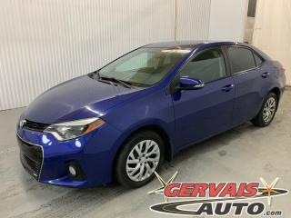 Used 2014 Toyota Corolla S Cuir/Tissus Caméra A/C Sièges Chauffants for sale in Trois-Rivières, QC