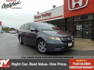 Used 2017 Honda Odyssey EX-L RES for sale in Peterborough, ON