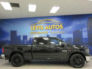 Used 2018 RAM 1500 SLT ECODIESEL CREW-CAB BOITE 6½ CUIR/GPG for sale in Lévis, QC