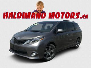 Used 2017 Toyota Sienna SE for sale in Cayuga, ON