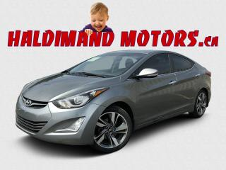 Used 2016 Hyundai Elantra Limited for sale in Cayuga, ON