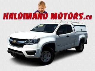 Used 2019 Chevrolet Colorado WT EXT CAB 2WD for sale in Cayuga, ON