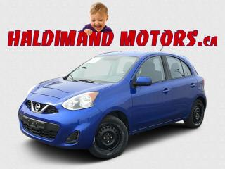 Used 2017 Nissan Micra S for sale in Cayuga, ON