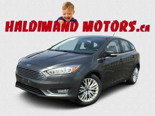 Used 2018 Ford Focus Titanium Hatch for sale in Cayuga, ON