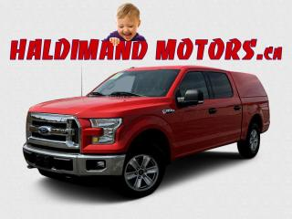 Used 2016 Ford F-150 XLT CREW 4WD for sale in Cayuga, ON
