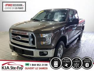 Used 2015 Ford F-150 SUPERCAB* 4X4* BLUETOOTH* UN PROPRIO* JA for sale in Québec, QC