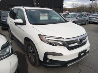 Used 2020 Honda Pilot EX-L AWD A/C Mags Cuir Toit GPS Sièges Chauffants for sale in Île-Perrot, QC