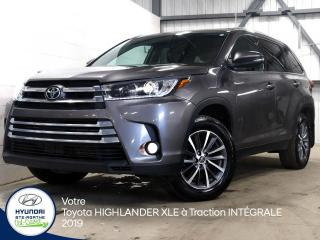 Used 2019 Toyota Highlander XLE à Traction INTÉGRALE for sale in Val-David, QC