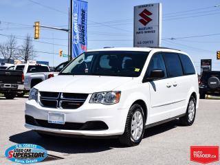Used 2016 Dodge Grand Caravan SXT ~Dual Zone Climate Control ~Full Stow 'N Go for sale in Barrie, ON