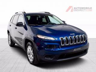 Used 2018 Jeep Cherokee Sport A/C Mags Caméra Bluetooth for sale in Île-Perrot, QC