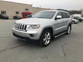 Used 2012 Jeep Grand Cherokee 4 RM 4 portes Overland for sale in Sherbrooke, QC