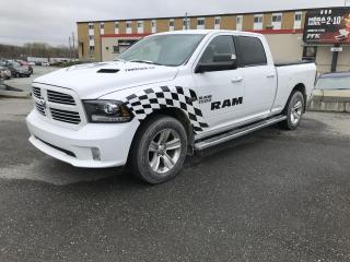 Used 2015 RAM 1500 CREW CAB 4X4 , 149 po Sport for sale in Sherbrooke, QC
