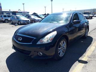 Used 2013 Infiniti G37X  Sedan Luxury AWD for sale in Pickering, ON