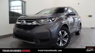 Used 2017 Honda CR-V LX + 2WD + GARANTIE 6/100 + HONDA SENSIN for sale in Trois-Rivières, QC