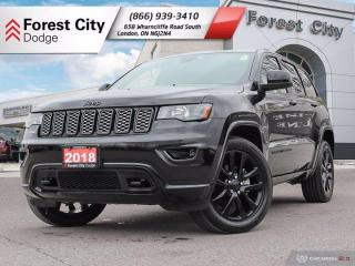 Used 2018 Jeep Grand Cherokee Altitude Iv for sale in London, ON