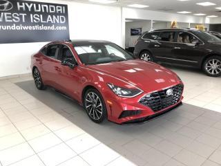 Used 2020 Hyundai Sonata 1.6T SPORT TOIT CUIR MAGS DEMARREUR À DI for sale in Dorval, QC