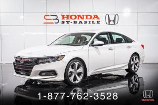 Used 2018 Honda Accord TOURING + NAVI + CUIR + TOIT + MAGS + WO for sale in St-Basile-le-Grand, QC