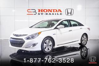 Used 2015 Hyundai Sonata Hybrid HYBRID + TOIT + AUTO + MAGS + WOW! for sale in St-Basile-le-Grand, QC