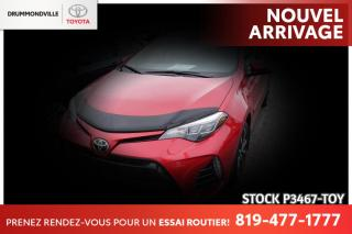 Used 2018 Toyota Corolla SE| VOLANT CHAUFFANT| PEA! for sale in Drummondville, QC