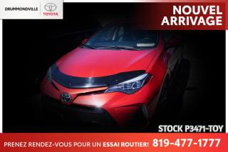 Used 2017 Toyota Corolla SE| VOLANT CHAUFFANT| SAFETY SENSE for sale in Drummondville, QC