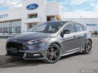Used 2016 Ford Focus ST for sale in Winnipeg, MB
