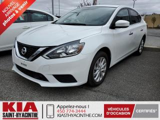 Used 2019 Nissan Sentra SV ** TOIT OUVRANT / CAMÉRA DE RECUL for sale in St-Hyacinthe, QC