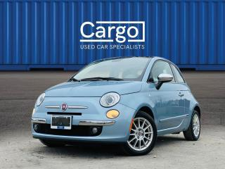Used 2015 Fiat 500 Lounge for sale in Stratford, ON