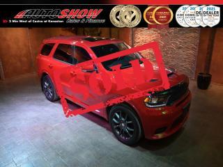 Used 2018 Dodge Durango R/T - Loaded V8 HEMI w/ S.Roof & Navigation ! for sale in Winnipeg, MB