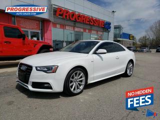 Used 2016 Audi A5 2.0T Progressiv plus NAV / LEATHER / SUNROOF for sale in Sarnia, ON